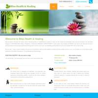 Blisshealth&Healing logo