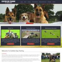 Cosford Dog training  logo