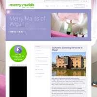 Merry Maids of Wigan logo