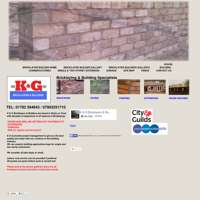 K&G Bricklayers & Builders logo