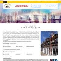 A&f scaffolding ltd logo