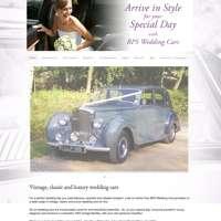 BPS Wedding Cars logo