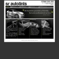 SR Auto Tints logo