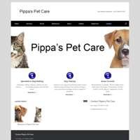 Pippas pet care logo