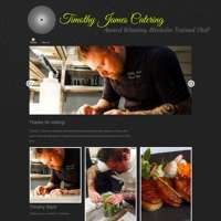 Timothy James Catering logo