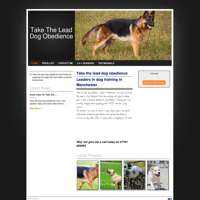 Take the lead dog obedience  logo
