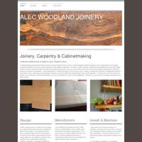 Alec Woodland Joinery logo