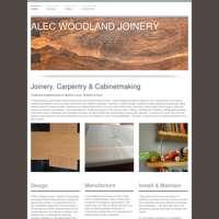 Alec Woodland Joinery logo