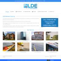 LDE Window Cleaning logo
