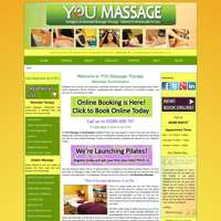YOU Massage Therapy logo