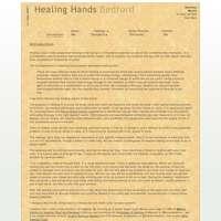 Healing Hands Bedford logo