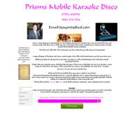 Prisms Mobile Karoake Disco logo