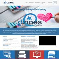Dzines Digital logo