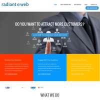 Radiant Web logo