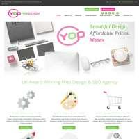 YOP Web Design  logo