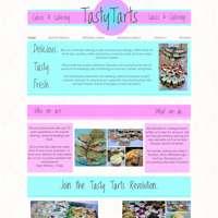 Tasty Tarts Catering  logo