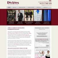 DICKIES SUIT HIRE  logo