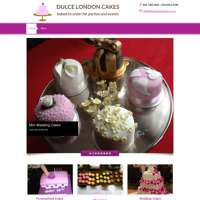 Dulce London Cakes logo