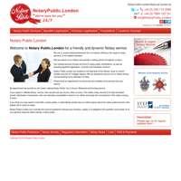 Notary Public London logo