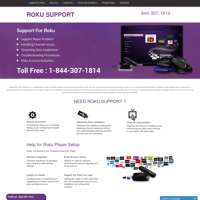 support for roku  logo