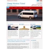 Cheap minibus logo