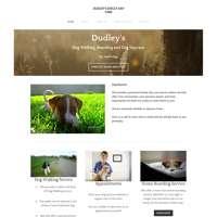 Dudleys Doggy  daycare logo