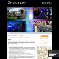 Light 'n' Soul Events logo