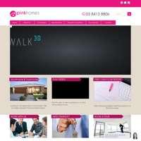 Pink Homes logo