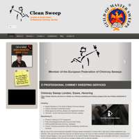 Clean sweep chimney services logo