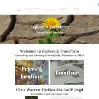 Explore & Transform Counselling London logo