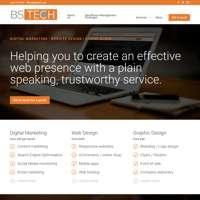 BSTECH  logo
