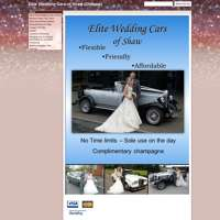 Elite Wedding Cars Of Shaw, logo