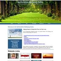 Hertfordshire Wellbeing Centre logo