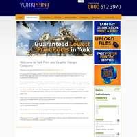 York Print Company logo