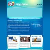 Letsclean.co.uk ltd logo
