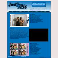 Just4pix Photobooth  logo