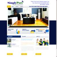 SimplyPure Cleaning Solutions  logo