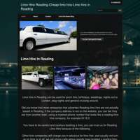 Limo Hire Reading	 logo