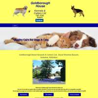 Goldborough House Kennels & Cattery logo