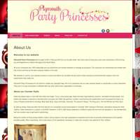 Plymouth Party Princesses  logo