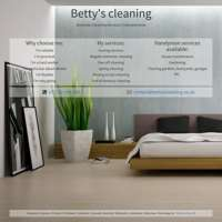 Bettys cleaning logo