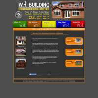 Wh building contractors ltd logo