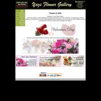 Yazs flower gallery logo