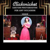 ClickSnicket Photobooths logo