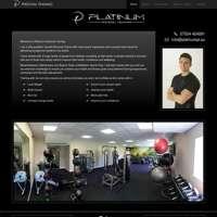Platinum Personal Training logo