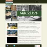 The Odd Job Man logo