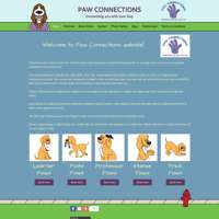Paw Connections  logo