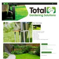 Total Gardening Solutions logo