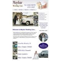 Mayfair Wedding Cars logo