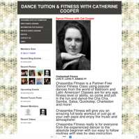 First dance wedding specialist & chasamba dance fitness classes with Cat Cooper  logo